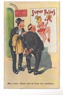 CPA FANTAISIE A Système - Illustrateur Jean CHAPERON - Super Folies Pin-Up Humour - Chaperon, Jean