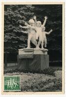 BELGIQUE => Carte Maximum - Les Joies Du Printemps - 1955 - 1951-1960