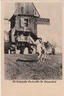 Rare Cpa Napoléon Sur Son Cheval Die Historische Windmühle Bei Keippendorf - Duitsland