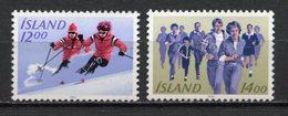 Islande - YT N° 556 Et 557 - Neuf Sans Charnière - 1983 - Ungebraucht