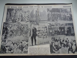 """Origineel Knipsel ( 1794 ) Uit Tijdschrift """" Ons Volk """"  1935 :    Jules Van Hevel   Brugge   Bruges - Dubbele Blz. - Sin Clasificación"""