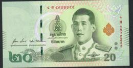 THAILAND P135c 20 BAHT  #4H  Signature 88 (= New Signature 2019 )   UNC. - Tailandia
