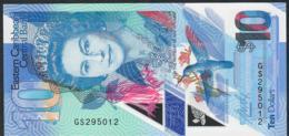 EAST CARIBBEAN TERRITORIES NLP 10 DOLLARS 2019  ECBB Signature 3  UNC. - Caribes Orientales