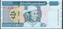 MYANMAR NLP 1000 KYATS 2020  #AC  AUG SAN Issued January 2020      UNC. - Myanmar