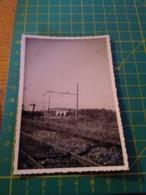 150673 VECCHIA FOTO ORIGINALE FERROVIA NORD ITALIA - Treni