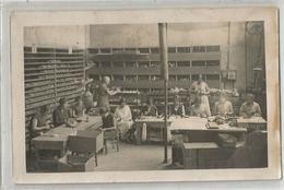 26 Drome Romans Manufacture Paul Roux Atelier Fabrique Chaussures Ouvrières Femmes Métier Carte Photo - Industry
