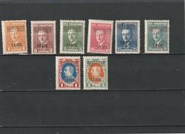 1929 MH Mint Hinged Sc. 241-248, Yv. 220A-220H, Mi. 202-209          051 - Albania