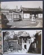 Chine Lot 2 Cpa Temple Et Pagoda  Carte Photo - China
