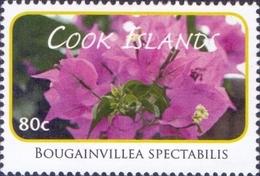 Cook Islands - Hairy Bougainvillea (Bougainvillea Spectabilis), Stamp, MINT, 2010 - Sonstige