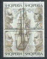 240 ALBANIE 1995 - Yvert 2329/32 - Antarctique Polaire Bateau - Neuf ** (MNH) Sans Charniere - Albania
