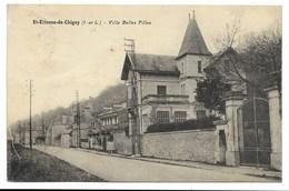37-SAINT-ETIENNE-DE-CHIGNY-Villa BELLES FILLES...1933 - Other Municipalities
