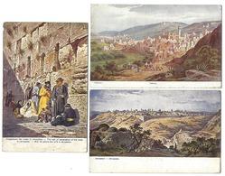 MOYEN-ORIENT - Lot De 16 CPA - Années 1920 - ISRAEL, SYRIE, PALESTINE - Toutes Scannées - Non Classés