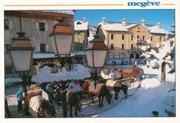 Haute Savoie, Megeve ,les Traineaux - Megève