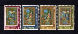 TURKS  AND  CAICOS  ISLANDS    1969    Christmas    Set  Of  4    MNH - Turks And Caicos