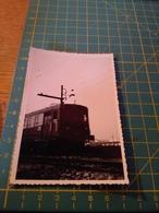 150694 VECCHIA FOTO ORIGINALE FERROVIA NORD ITALIA - Treni