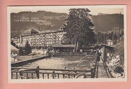 OLD POSTCARD - SWITZERLAND - SCHWEIZ -   SUISSE -    VILLARS - PISCINE -  PALACE HOTEL - VD Vaud