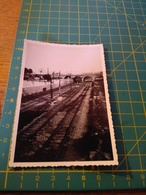 150695 VECCHIA FOTO ORIGINALE FERROVIA NORD ITALIA - Eisenbahnen