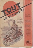 """TOUT LE SYSTEME """"D"""" - N° 38 - 1949 / SCOOTER Réalisé Avec Un Vieux Vélo De Femme - Do-it-yourself / Technical"""