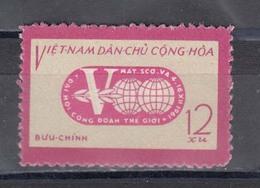 Vietnam Nord 1961 - 5th World Trade Union Confederation Congress In Moscow, Mi-Nr. 189, MNH** - Vietnam
