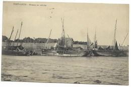 56-PORT-LOUIS-Bâteaux En Relâche...1904  Animé - Port Louis