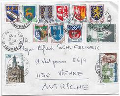 TARIF ETRANGER LETTRE 1967 POUR AUTRICHE - Posttarife