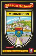 CPSM 84 MORMOIRON BLASON ADHESIF COMTAT VENAISSIN - Mormoiron