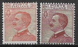 Italy - Italia -1920 Mi. Nr. 133/135 - Ungebraucht