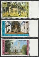 Polynésie Française 1985 N° 243 - 245  MNH Eglises Catholiques (afp13) - Ungebraucht