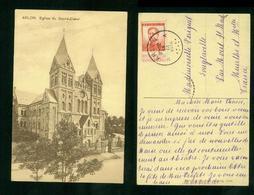 Arlon Eglise Du Sacré Coeur Cachet Arlon 1914 - Arlon