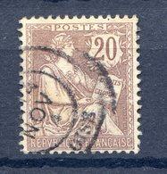 TIMBRE FRANCE N°126 Oblitéré - Frankreich