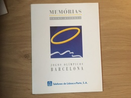 PORTUGAL : FOLDER MEMORIAS - JUGOS OLIMPICOS BARCELONA ( No Card) - Portugal