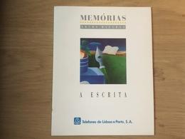PORTUGAL : FOLDER MEMORIAS - A ESCRITA  ( No Card) - Portugal