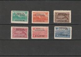 1946 MNH Mint Never Hinged Sc. 367-372, Yv.335A-335F, Mi. 396-401                 079 - Albanien