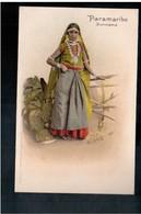 SURINAME Paramaribo Woman Ethnic Ca 1905 Old Postcard - Surinam