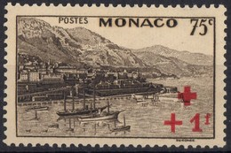 MONACO  N* 207 TB  Charniere - Ungebraucht