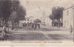 SAINTE-BARBE-du-TLELAT (Algérie Oran)  - Rue De Sidi-Bel-Abbès - B 1318 - - Autres Villes
