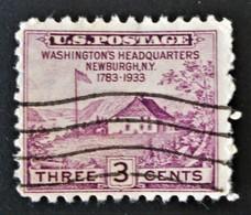 QUARTIER GENERAL DE WASHINGTON 1933 - OBLITERE - YT 319 - MI 354 - Used Stamps