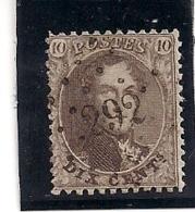 14A-LP292 PEPINSTER - 1863-1864 Médaillons (13/16)