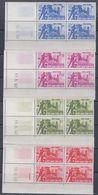 Vietnam Du Sud N° 200  / 03 XX Hameaux Stratéguques Les 4  Valeurs En Bloc De 4 Coin Daté Sans Charnière  TB - Vietnam