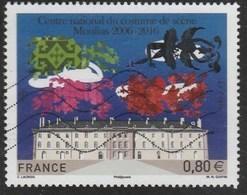 FRANCE 2016 TIMBRE OBLITERE CENTRE NATIONAL DU COSTUME DE SCENE MOULINS YT 5042 - Frankreich