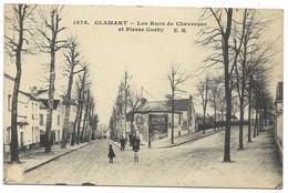 92-CLAMART-Les Rues De Chevreuse Et Pierre Corby... Animé - Clamart