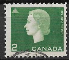 Canada 1963. Scott #402 (U) Queen Elizabeth II And Tree - 1952-.... Reign Of Elizabeth II
