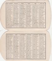 - Très Beau Calendrier De 1922 Avec PUB Nitrate De Chaux De Norvège - Small : 1921-40