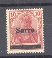 Sarre  :  Yv 6  **  Type I - 1920-35 Saargebied -onder Volkenbond