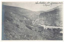 Cpa Carte-photo Syrie - La Vallée Du Yarmouk ( Pont De Chemin De Fer ?) - Syrien