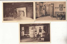CPA  France 68 - Colmar - 3 Cartes Du Musée Des Unterlinden    :  Achat Immédiat - (cd025 ) - Colmar