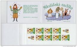 Carnet 2002 De 8 Timbres + 2 Coupons YT C 311 Saint-Nicolas Hotte / Booklet Michel MH 104 (335) - Tchéquie