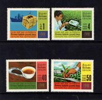 CEYLON      1967    Ceylon  Tea  Industry    Set  Of  4        MNH - Sri Lanka (Ceylon) (1948-...)
