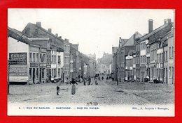 Bastogne. Rue Du Sablon. Rue Du Vivier. Café Des Ardennes. Pub Elixir D' Anvers. 1910 - Bastogne