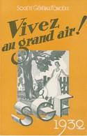 - Très Beau Calendrier De 1932 Avec PUB Société Générale Foncière, Pairs 8e - Small : 1921-40